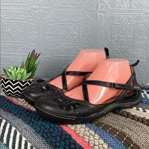 Jambu Blossom Mary Jane Sandals  - Size 9